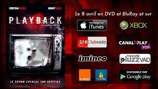 Playback Bande-annonce (2) VF