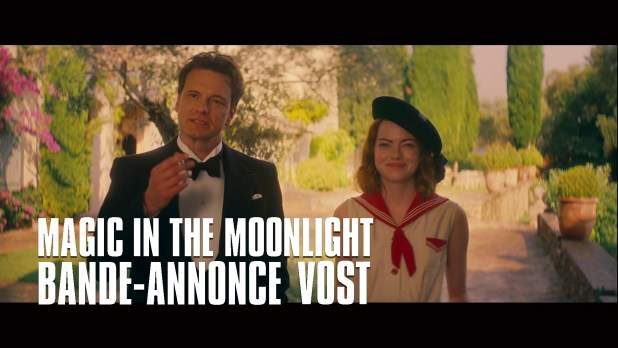 Magic in the Moonlight Bande-annonce (3) VF