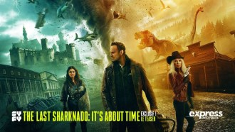 The Last Sharknado: It's About Time Teaser VF