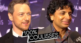 Glass : rencontre avec M. Night Shyamalan et James McAvoy