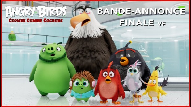 Angry Birds : Copains comme cochons Bande-annonce (5) VF
