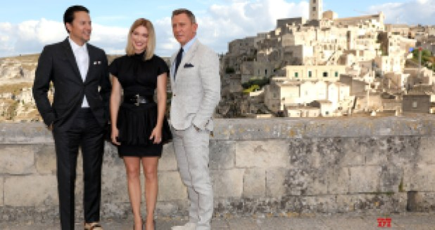 No Time to Die : des photos de l'équipe de Bond 25 en Italie photo 2